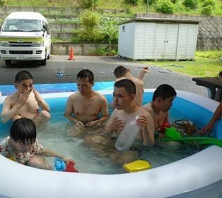 『夏!暑い!プール!』