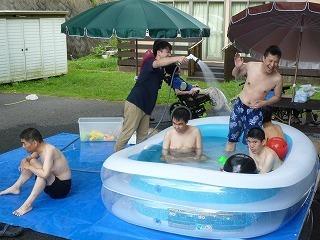 『夏だ!プールだ!かき氷だ!』